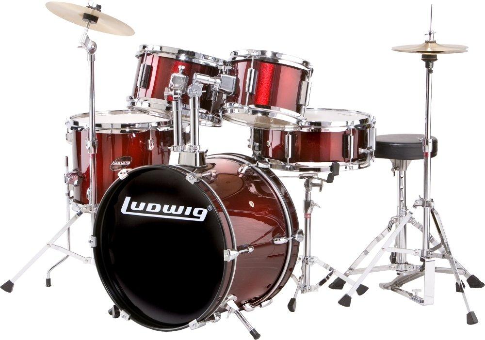 ludwig junior drum set