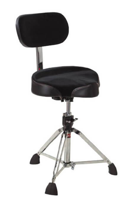 best drum throne for back problems